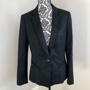 Ted Baker Working Title black blazer jacket size 3